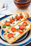 Сандвич багета Стоковая Фотография