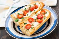 Сандвич багета Стоковое Фото