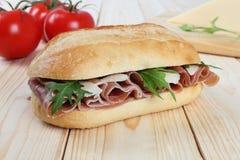 Сандвич ветчины Стоковая Фотография RF