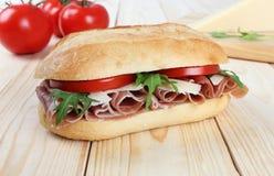 Сандвич ветчины Стоковые Изображения