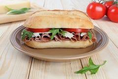 Сандвич ветчины Стоковые Изображения RF