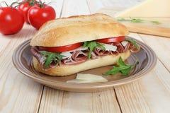 Сандвич ветчины Стоковое Фото