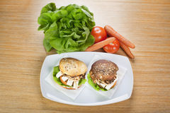 Сандвич гриля Стоковое Фото