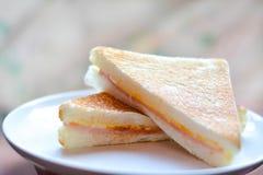 сандвич гусынь ветчин Стоковые Фотографии RF