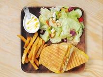 сандвич зажженный кубинцем стоковое изображение