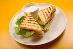 сандвич закуски Стоковые Фото