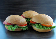 Сандвич диеты Стоковые Фотографии RF