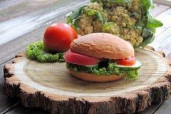 Сандвич диеты Стоковая Фотография RF