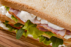 Сандвич конца-вверх Стоковые Фотографии RF