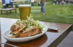 Сандвич краба Стоковая Фотография