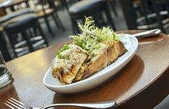 Сандвич краба Стоковая Фотография RF
