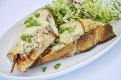Сандвич краба Стоковые Изображения RF