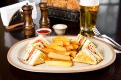 Сандвич клуба стоковое фото