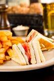 Сандвич клуба стоковые изображения