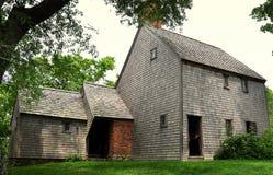 Сандвич, МАМЫ: Дом 1675 Hoxie Стоковые Фотографии RF