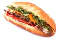 Сандвич подводной лодки взгляда со стороны Стоковая Фотография