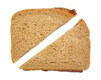 Сандвич ростбифа отрезанный в половине Стоковая Фотография RF