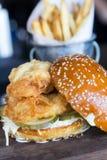 Сандвич рыб Стоковые Фото