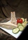 Сандвич салата из курицы Стоковые Изображения RF