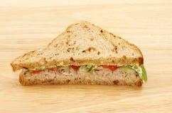Сандвич салата тунца Стоковое Изображение