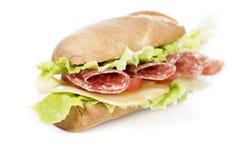 Сандвич салями Стоковые Фотографии RF