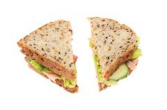 Сандвич сои и льняного семени Стоковое фото RF