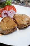 сандвич сыра бекона стоковая фотография rf