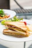 Сандвич сыра ветчины Стоковые Изображения