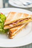 Сандвич сыра ветчины Стоковые Изображения RF