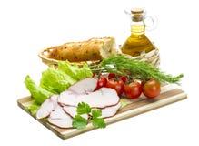 Сандвич с ветчиной Стоковое Фото