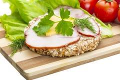 Сандвич с ветчиной Стоковая Фотография RF
