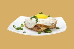 Сандвич с яичком Стоковое Изображение