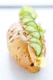 Сандвич творога паприки Стоковая Фотография RF