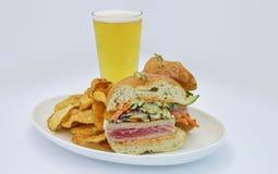 Сандвич тунца Ahi Стоковая Фотография