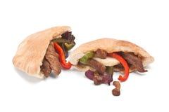 Сандвич хлеба пита говядины Стоковые Изображения RF