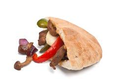 Сандвич хлеба пита говядины Стоковое Фото