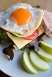 Сандвич яичка Стоковые Фото