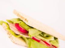 Сандвич Crispbread Стоковая Фотография