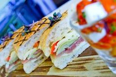 Сандвич Foccacia Стоковые Изображения