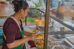 Сандвич Khao Jee стоковая фотография