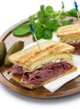 Сандвич Reuben, сандвич пастромы Стоковое Изображение