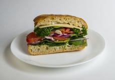 Сандвич Veggie Стоковое фото RF