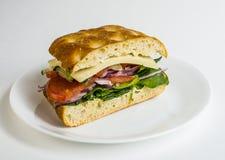 Сандвич Veggie Стоковая Фотография RF