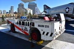 Сан-Диего, Калифорния - США - декабрь 04,2016 - Halon 1211 USS на полпути Стоковые Фото