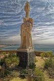 Сан-Диего, Соединенные Штаты Америки 14,2016 -го апреля: Национальный монумент Cabrillo на полуострове Loma пункта стоковое фото