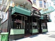 Сан-Франциско, итальянский ресторан стоковое фото rf
