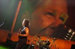 Metallica на центре 2011 Moscone Стоковое Изображение RF