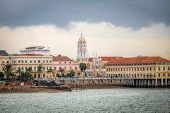 Сан-Франциско de Asis Церковь в Casco Viejo - Панама (город), Панаме стоковое изображение