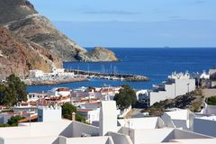 Сан-Хосе в Cabo de Gata стоковая фотография rf