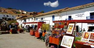 Сан Blas, Cusco, Перу стоковые фото